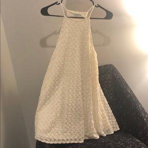 Kimichi Blue off white dress